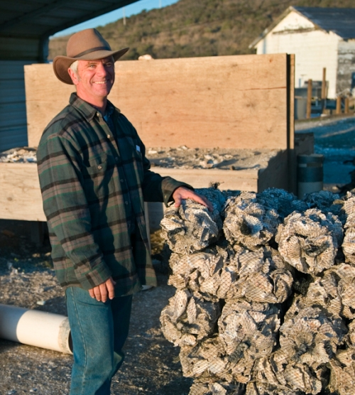Kevin Lunny, owner of federaaly closed Drakes Bay Oyster Company