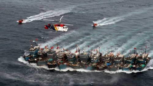 Now the South China Sea is under fishing siege by China's over-reaching claim to its waters