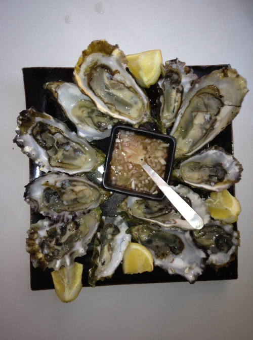 Oyster feast. Photo by Kim Steele